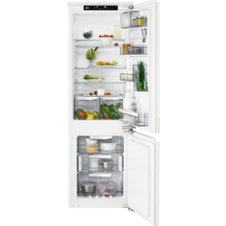 AEG Frost Free Integrated Fridge Freezer 176.9 cm A++ SCE8182VNC